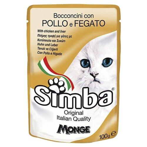 Корм для кошек Simba беззерновой, с курицей 100 г
