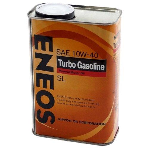 Моторное масло ENEOS Turbo Gasoline SL 10W-40 0.94 л 5w30 легковое масло моторное eneos super gasoline sl 5 30 200 л