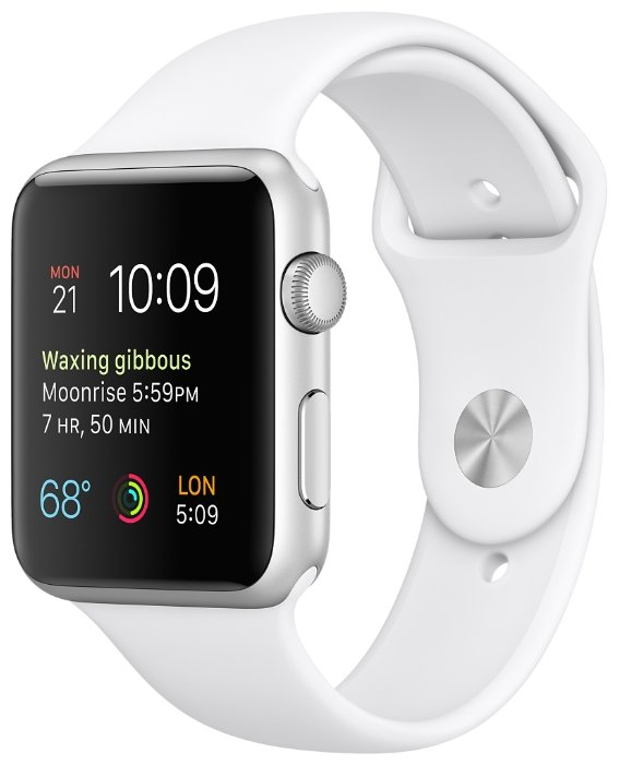 Apple Watch Sport 42mm Sport Band MJ3N2 White