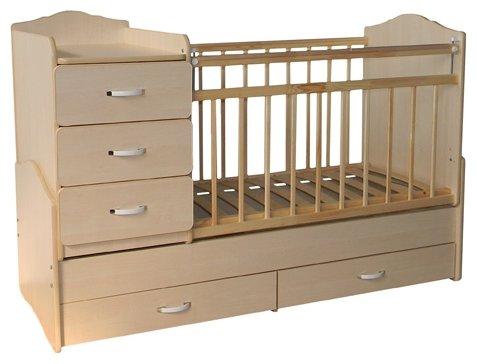 Кроватка СКВ-Компани 93001 (трансформер)