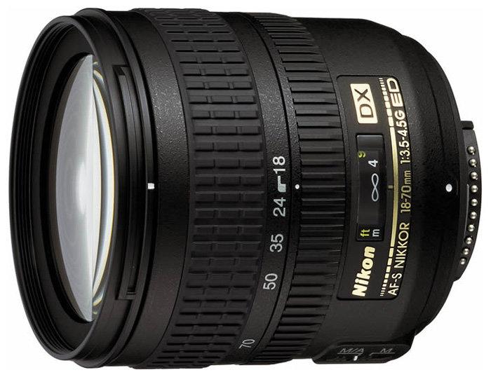 Объектив Nikon 18-70mm f3.5-4.5G ED-IF AF-S DX Zoom Nikkor
