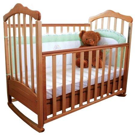 Кроватка Верес Соня ЛД-10 (с ящиком) (качалка), на полозьях