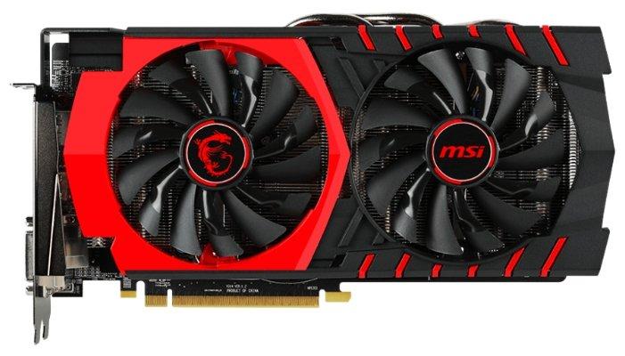 Видеокарта MSI Radeon R9 380 1000Mhz PCI-E 3.0 2048Mb 5600Mhz 256 bit 2xDVI HDMI HDCP