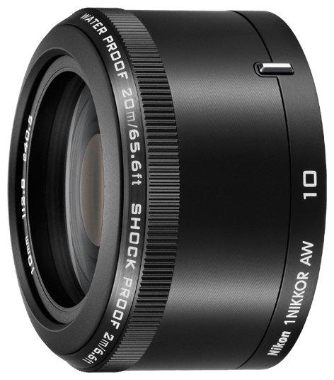 Nikon Объектив Nikon 10mm f/2.8 AW Nikkor 1