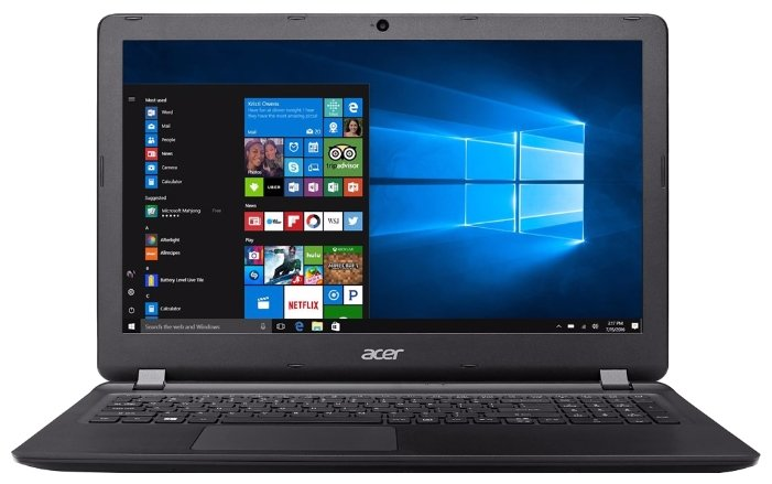 "Ноутбук Acer Extensa EX2540-53DD (Intel Core i5 7200U 2500 MHz/15.6""/1920x1080/4GB/256GB SSD/DVD нет/Intel HD Graphics 620/Wi-Fi/Bluetooth/Windows 10 Home)"