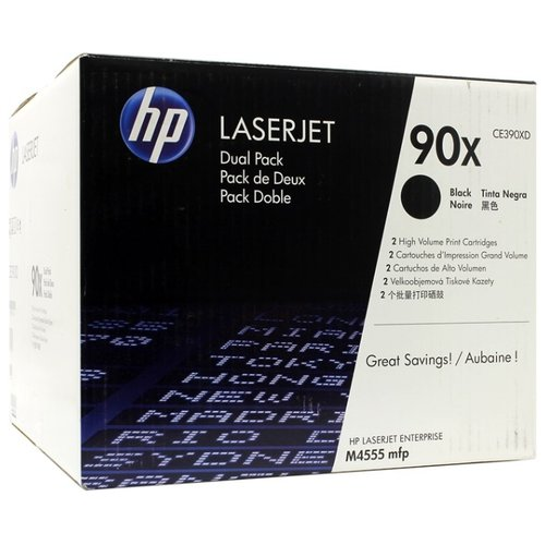 Купить Набор картриджей HP CE390XD