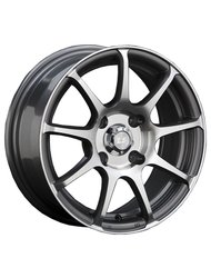 Диск колесный LS Wheels BY802 6x14/4x108 D73.1 ET25 GMF - фото 1