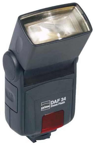 Вспышка Doerr DAF-34 Zoom Blitz for Canon