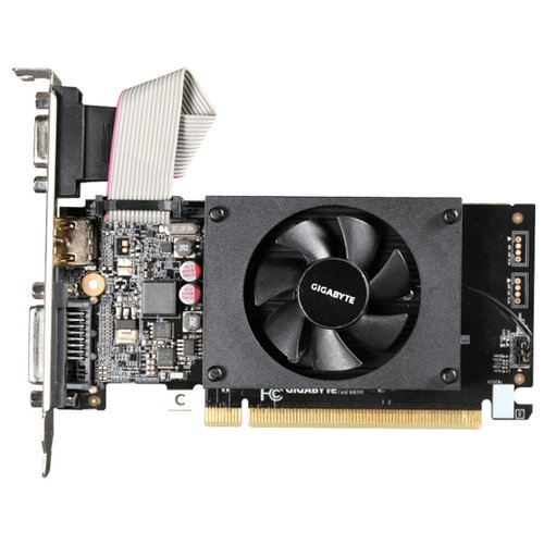 Видеокарта GIGABYTE GeForce GT 710 2GB (GV-N710D3-2GL) Retail