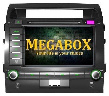 Автомагнитола Megabox Toyota LC200 CE6622