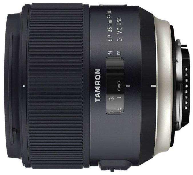 Сколько стоит Объектив Tamron SP AF 35mm f/1.8 Di VC USD (F012) Nikon F? Выгодные цены на Яндекс.Маркете