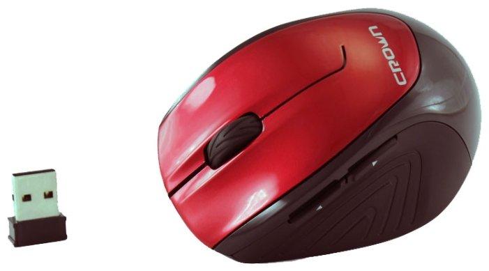 Мышь CROWN MICRO CMM-903W Red USB