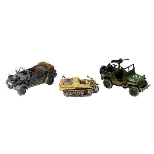 Сборная модель Моделист Набор техники Второй мировой войны (ПН307216) 1:72