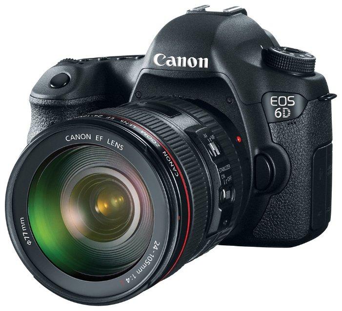 Canon Зеркальный фотоаппарат Canon EOS 6D Kit