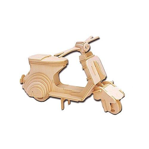 Сборная модель Мир деревянных игрушек Мотороллер (П021)
