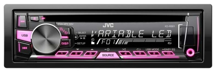 Автомагнитола JVC KD-R561E
