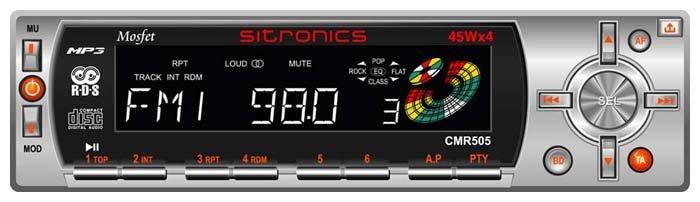 Автомагнитола Sitronics CMR 505
