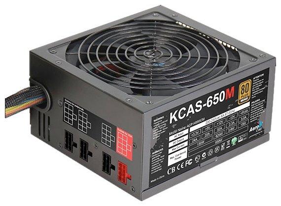 Блок питания AeroCool KCAS-650M 650W