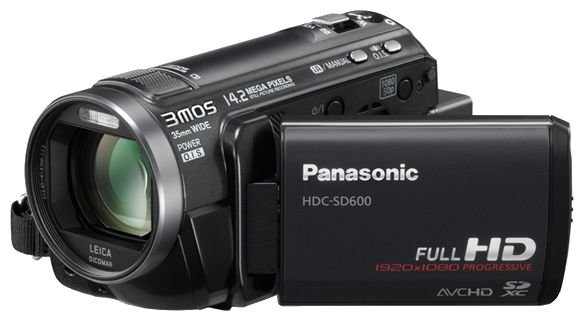 Сравнение с Panasonic HDC-SD600