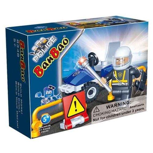 Купить Конструктор BanBao Полиция 8348 Полицейский, Конструкторы