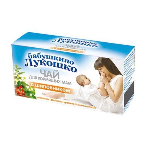 Чай Бабушкино Лукошко с шиповником 20 шт. 1 шт.