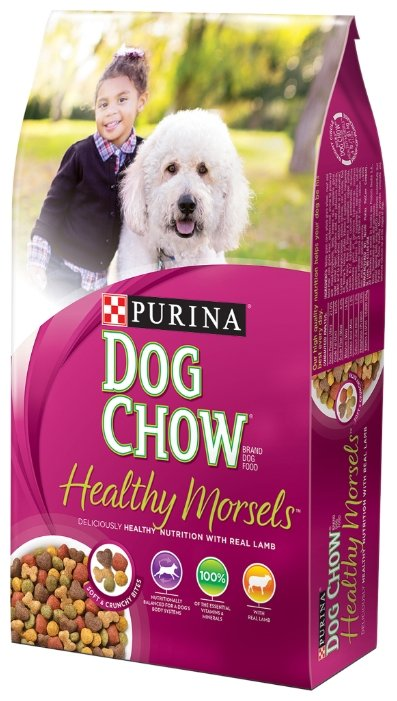 Корм для собак DOG CHOW Healthy Morsels ягненок