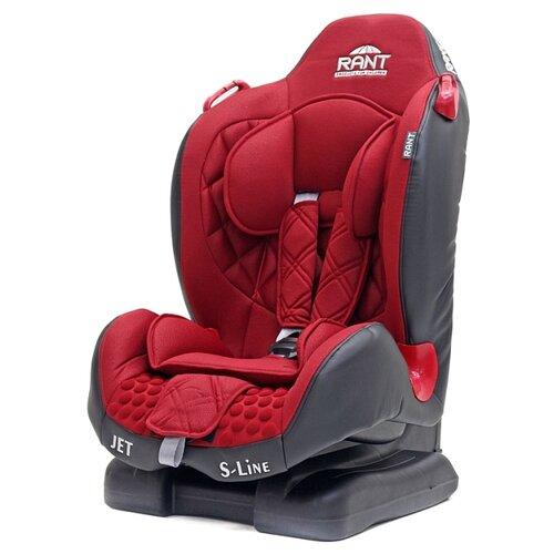 Автокресло группа 1/2 (9-25 кг) RANT Jet, red автокресло группа 1 2 3 9 36 кг little car ally с перфорацией черный