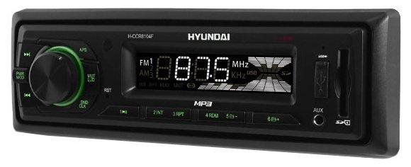 Автомагнитола Hyundai H-CCR8104F