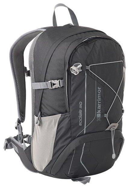 Рюкзак karrimor zodiak 20 black/grey школьный рюкзак pretty cat eastar, esa-10-09729