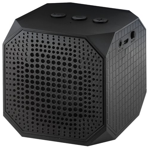 Портативная акустика Ginzzu GM-991B черный портативная акустика ginzzu gm 988r