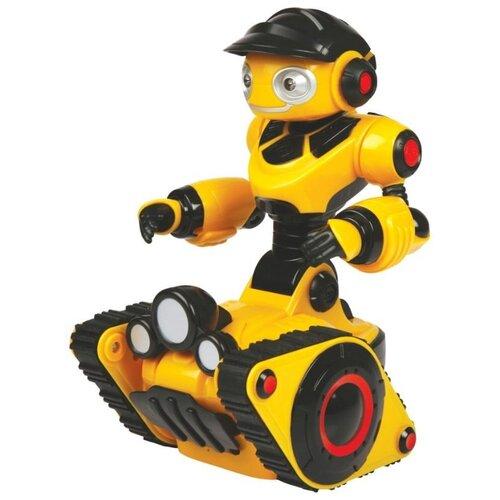 Интерактивная игрушка робот WowWee Mini Roborover желтый/черный робот wowwee игрушка электрокидс черный матовый