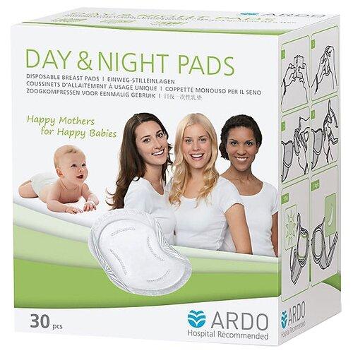Купить Ardo Прокладки для бюстгальтера Day & Night Pads 30 шт., Прокладки для груди