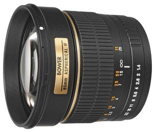 Bower 85mm f/1.4 Nikon F