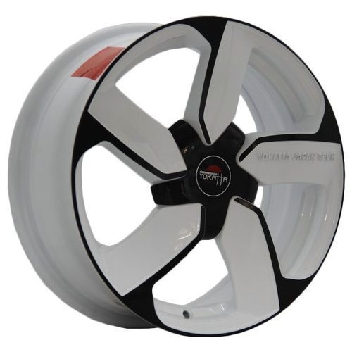 Фото - Колесный диск Yokatta Model-39 7x17/5x114.3 D64.1 ET50 W+B колесный диск yokatta model 27 7x17 5x114 3 d64 1 et50 w b
