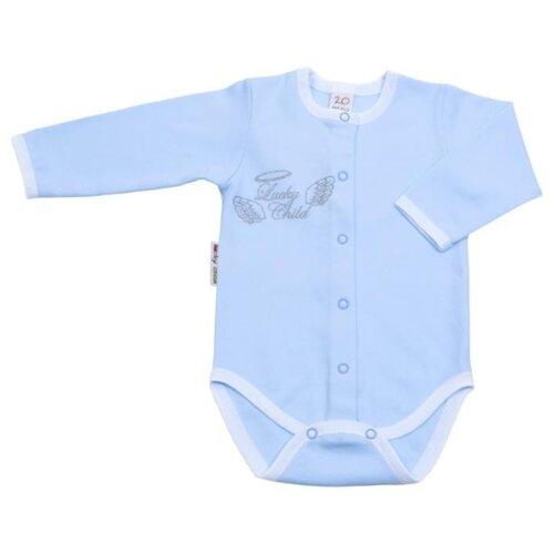 Боди lucky child размер 22 (68-74), голубой боди lucky child размер 22 68 74 голубой