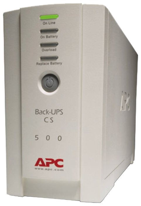 APC by Schneider Electric Back-UPS CS 500VA 230V RUSSIAN