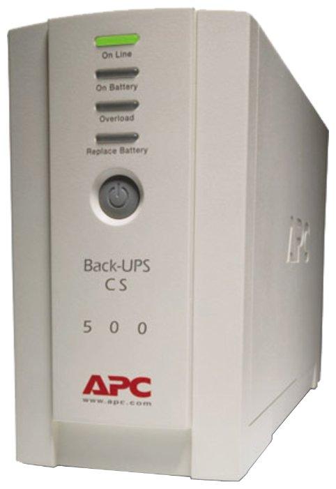 APC by Schneider Electric Back-UPS CS 500VA 230V RUSSIAN