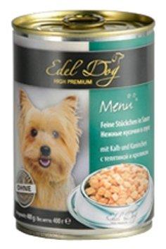 Корм для собак Edel Dog Телятина и кролик