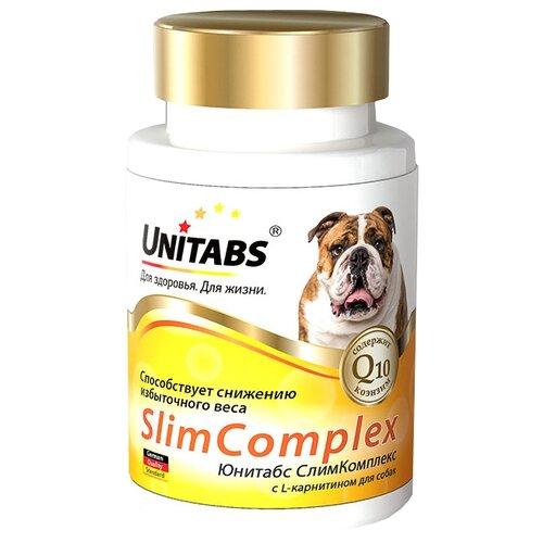 Добавка в корм Unitabs SlimComplex с L-карнитином 100 шт.Витамины и добавки для кошек и собак<br>