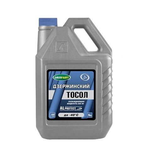 Антифриз OILRIGHT Тосол -40 5 кг жидкость охлаждающая тосол 45 felix 5 кг