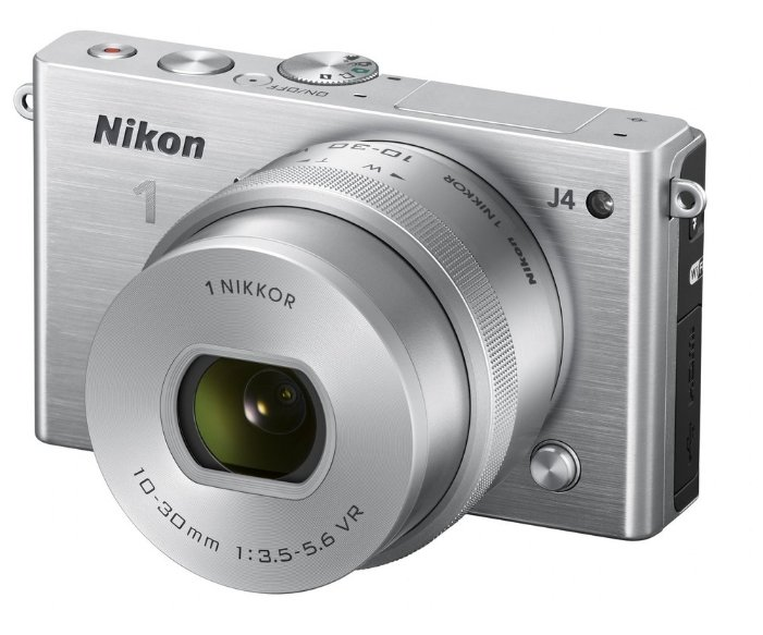 Nikon Фотоаппарат со сменной оптикой Nikon 1 J4 Kit