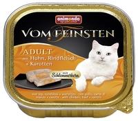 Корм для кошек Animonda (0.1 кг) 1 шт. Vom Feinsten Adult Меню для привередливых кошек с курицей, го
