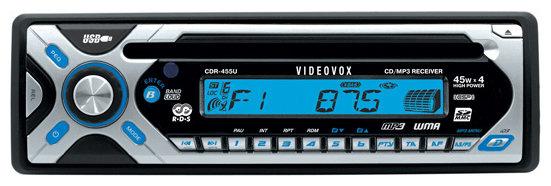 Автомагнитола Videovox CDR-455U
