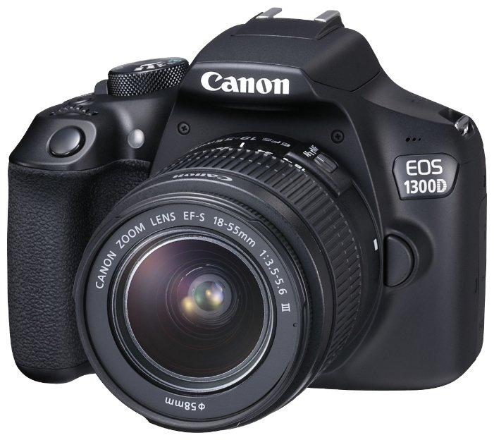 Canon Зеркальный фотоаппарат  EOS 1300D Kit