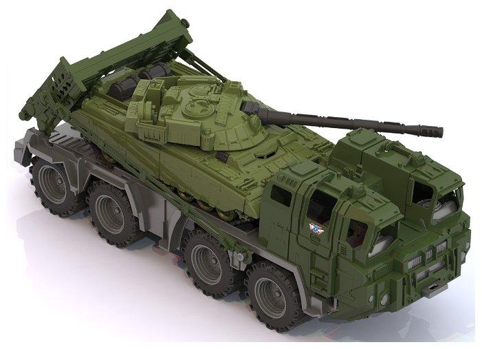 Нордпласт Военный тягач Щит с танком