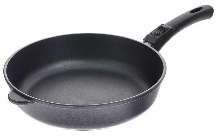 Сковорода НЕВА МЕТАЛЛ ПОСУДА Особенная индукционная 28 см (съёмная ручка)