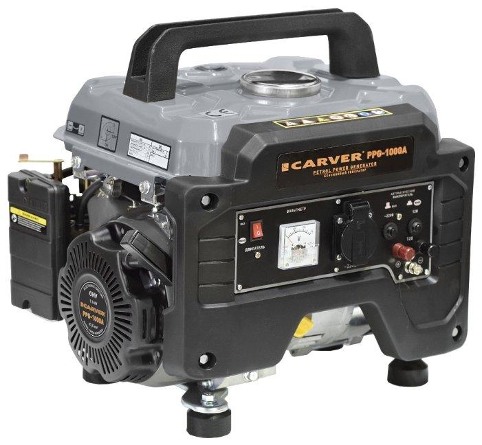Бензиновый генератор Carver PPG 1000A (1000 Вт)