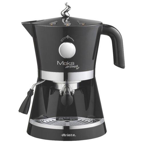 Кофеварка рожковая Ariete 1337 Moka aroma черный кофеварка ariete 1388 retro red