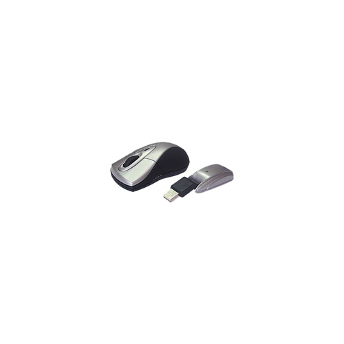 Мышь Porto Wireless Mini Mouse Silver-Black USB