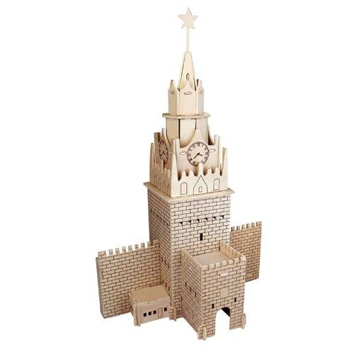Сборная модель Чудо-Дерево Спасская башня (PH097) брошь спасская башня